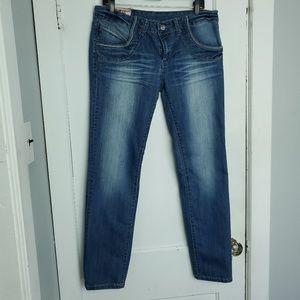 Denim - Womens skinny Jean's plus size 15, 5 pockets